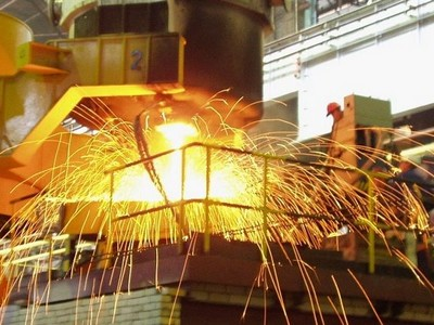 In Brazil, it will build a new steel complex