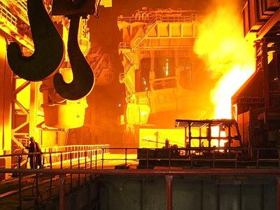 There is a jeopardy of the merger of two large metallurgical enterprises