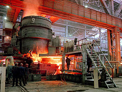 The last seven days shares of U. S. Steel Corporation increased by two percent